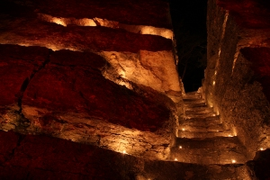 """""""Pulpit Rock Stairs Red"""""""